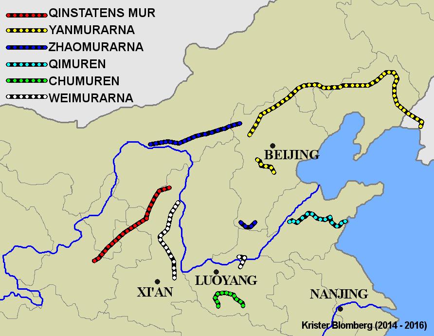 Участки Великой Стены