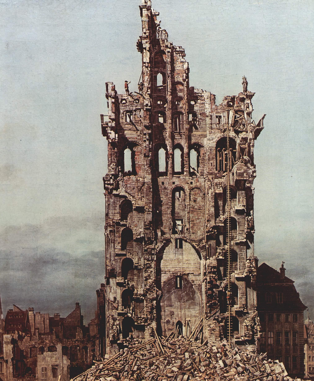 Дрезден. Антонио Каналетто.
