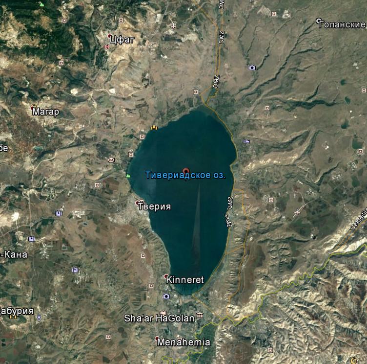Галилея. Израиль.