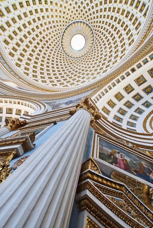 Купол церкви на о. Мальта