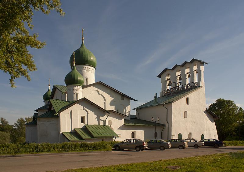Церковь Богоявления. Псков.