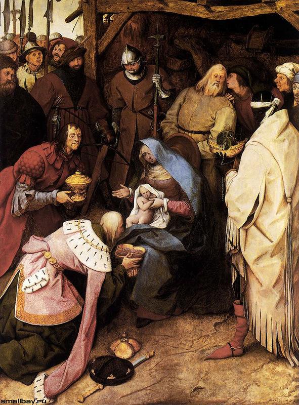 Питер Брейгель. Поклонение волхвов 1564г.