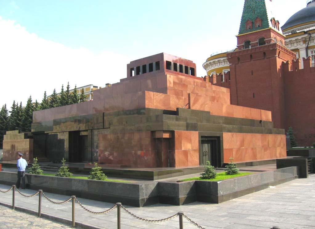 Мавзолей Ленина - зороастрийский.