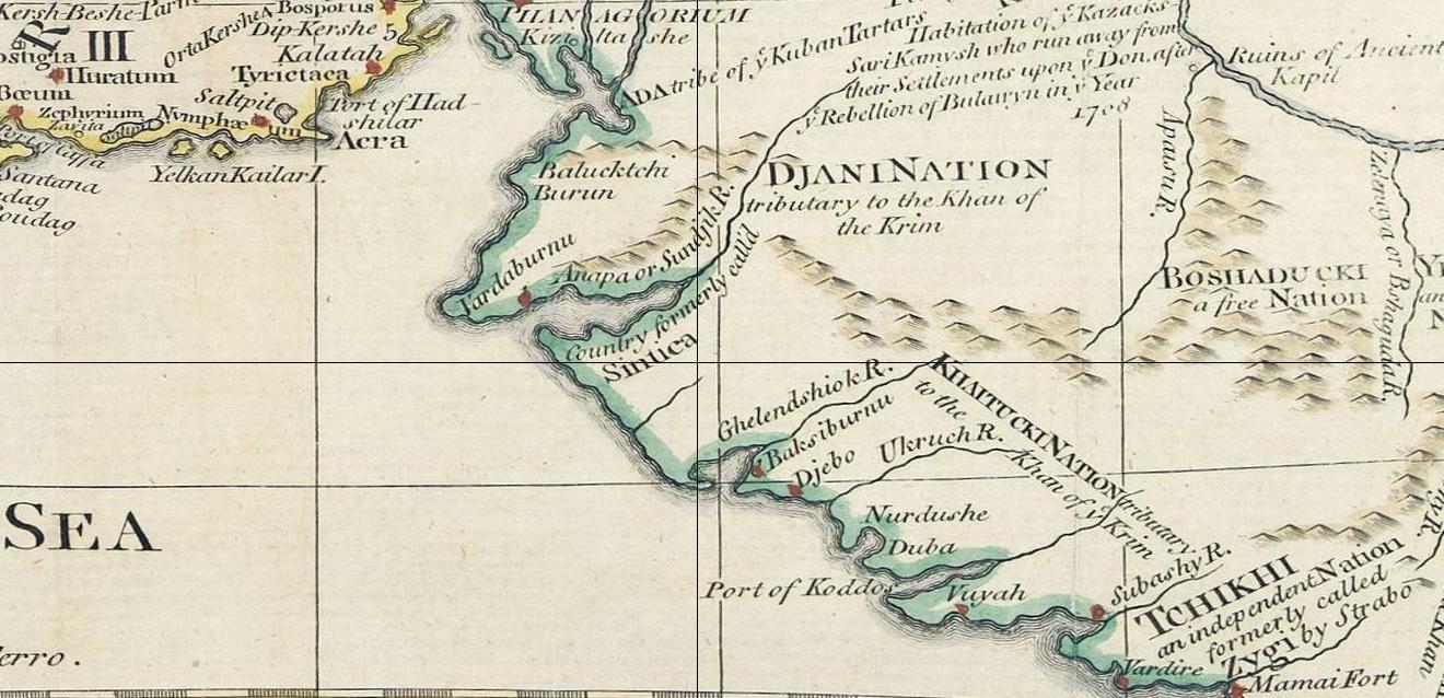 Крым Тартария и Азовское море