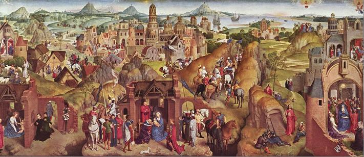 Ганс Мемлинг Семь радостей Марии