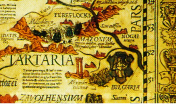 Фрагмент карты Карла V