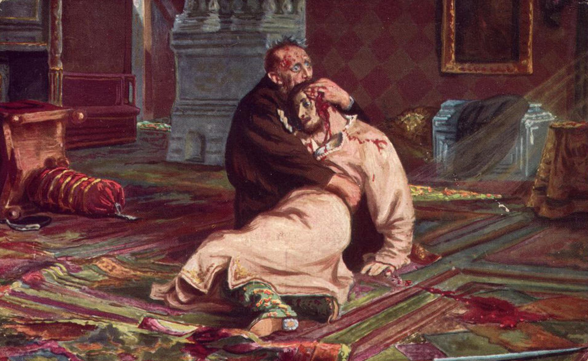 Иван Грозный убивает сына