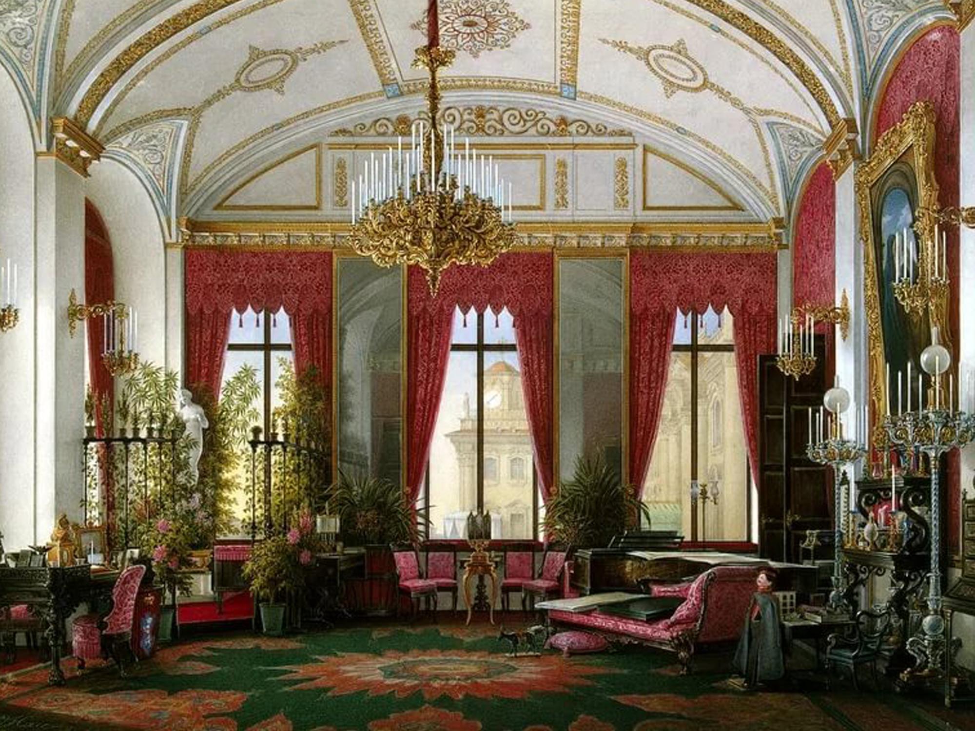 Кремлевский Дворец, картины