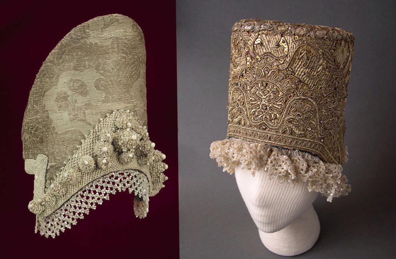 Кокошники. Русский головной убор. 17 век
