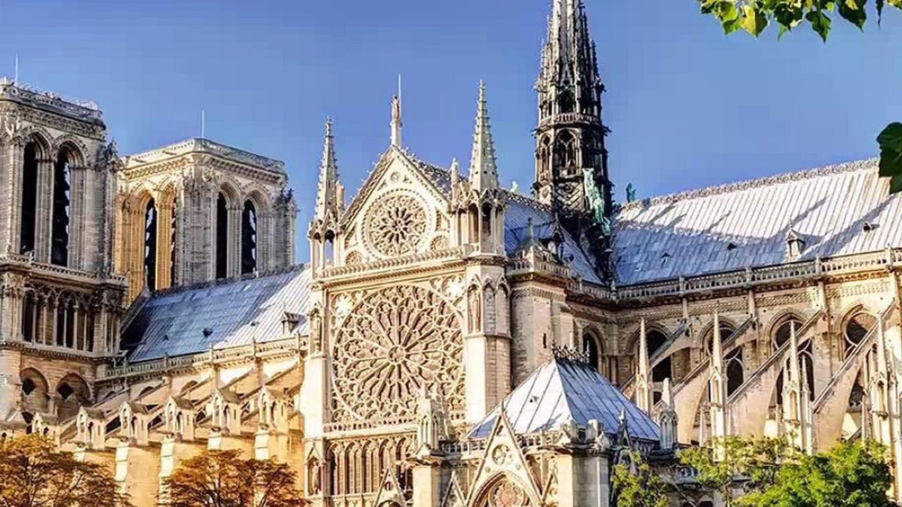 Собор Нотр-Да́м. Париж