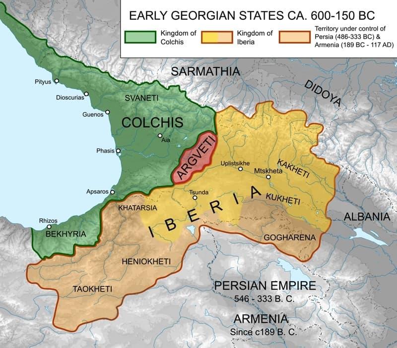 Кавказ схема