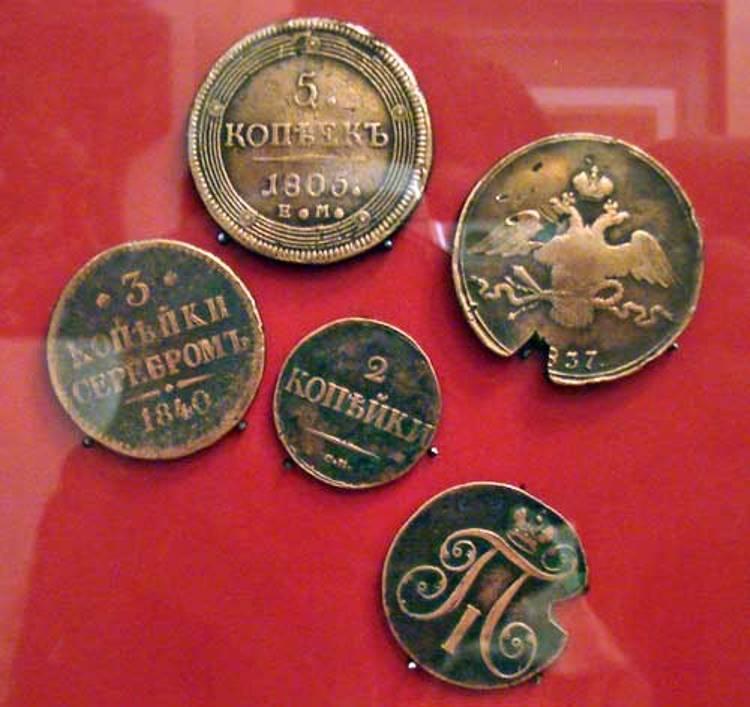 Интересные факты из истории наших монет. :: познавательные з.