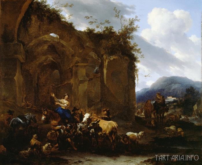 8. Nicolaes Pieterszoon Berchem