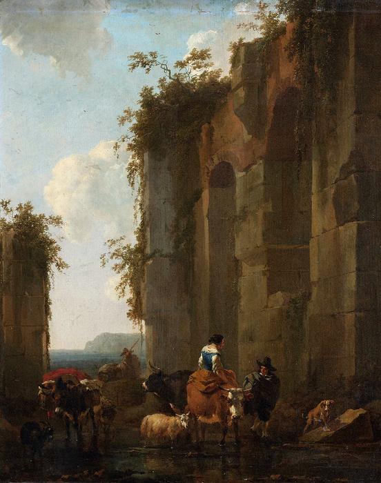 Николас Питерс Берхем.Nicolaes Pieterszoon Berchem