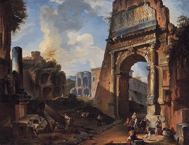 Giovanni Paolo Panini: Titova brána