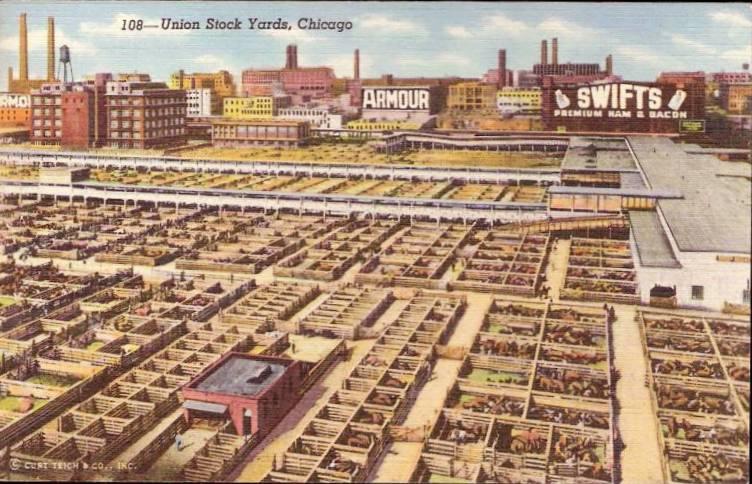 Chicago-Union-Stockyards