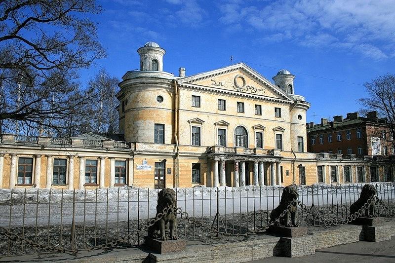 Бывшая усадьба Кушелева-Безбородко (Санкт-Петербург, Россия)
