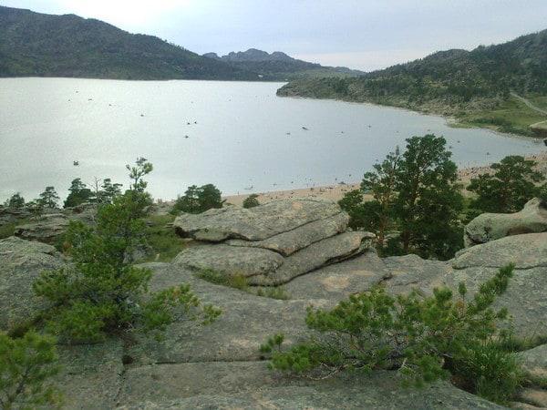 The biggest lake of the reserve - Sabindikol (каз. Сабындыкөл, буквально — «мыльное озеро»)