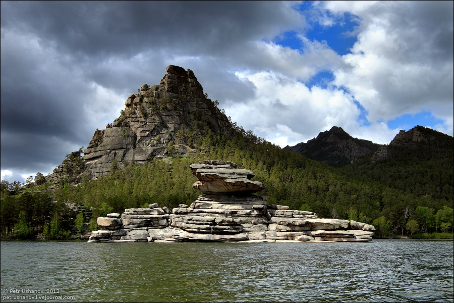 Озеро Боровое. Казахстан. Автор фото Пётр Ушанов.