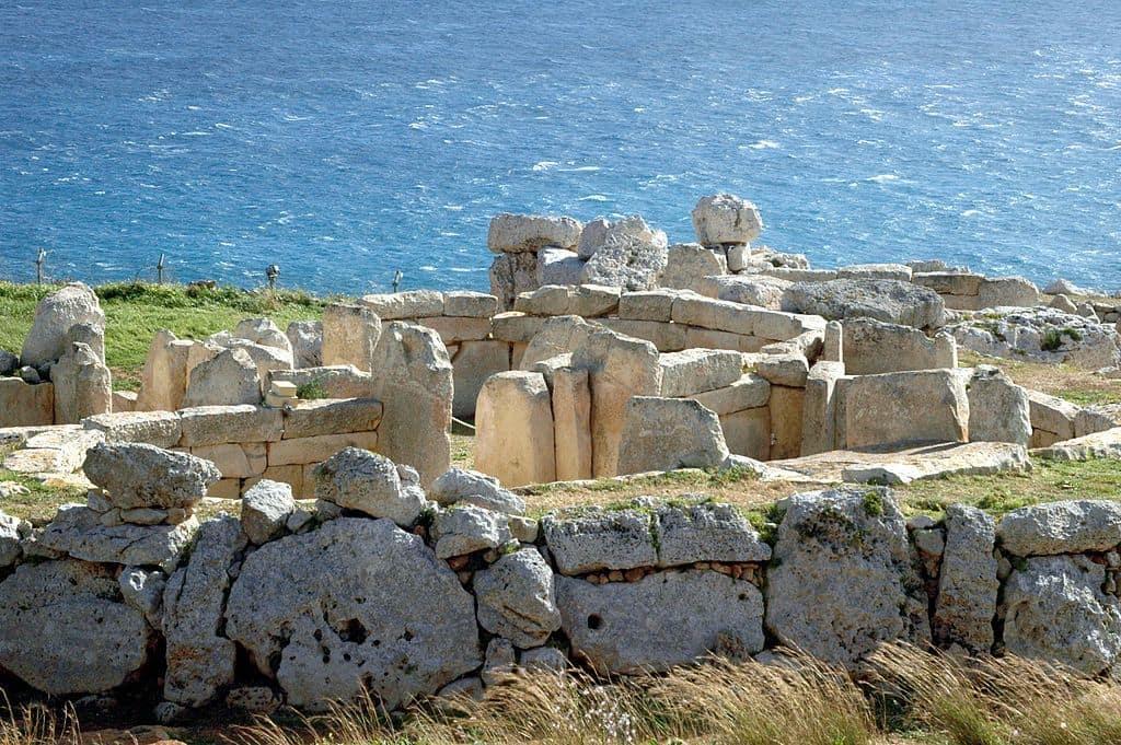 Tempel der Insel Malta.