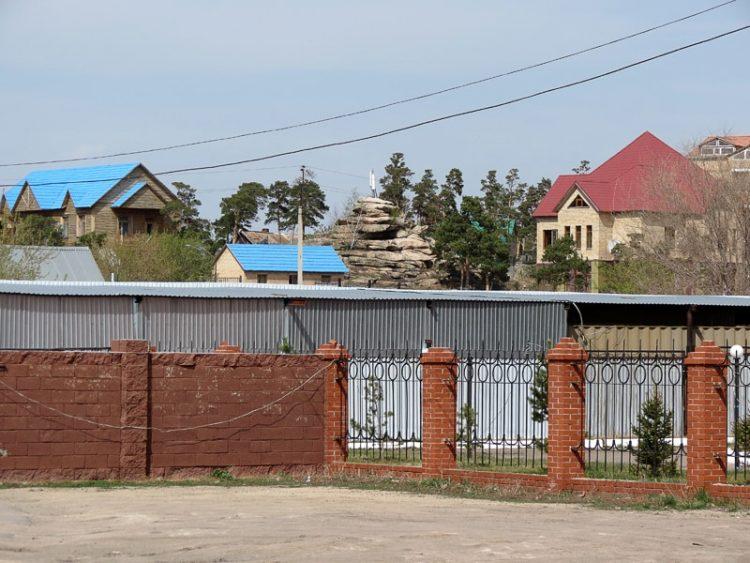 Die Siedlung Borowoje.