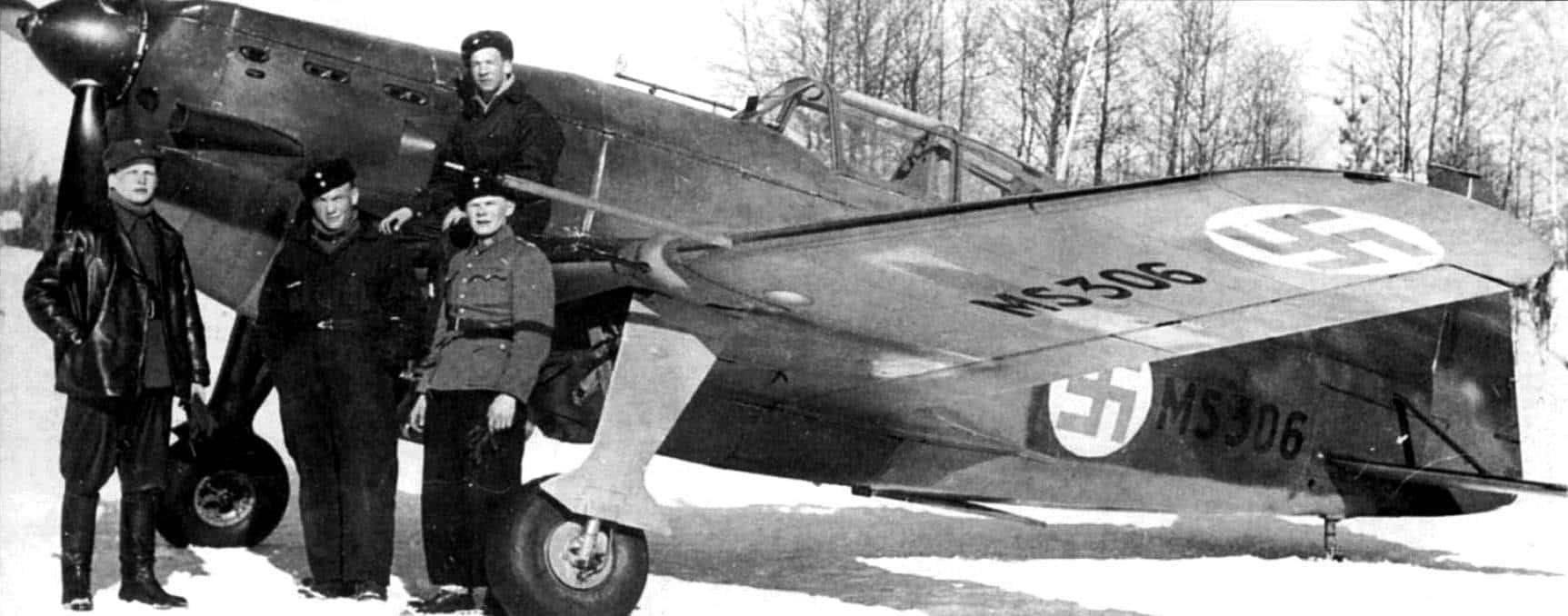 Германский Фоккер в ВВС Финляндии 1939г.