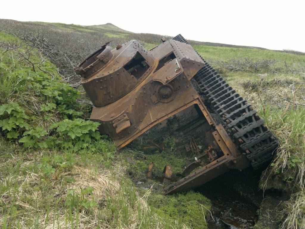 Эхо войны на Курильских островах