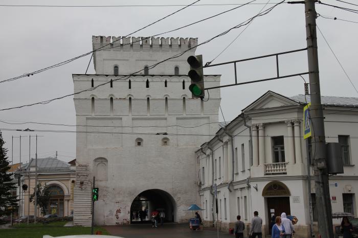 Знаменская башня. Ярославль.