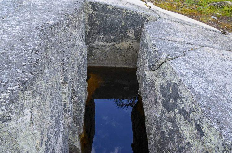 Die steinerne Wanne