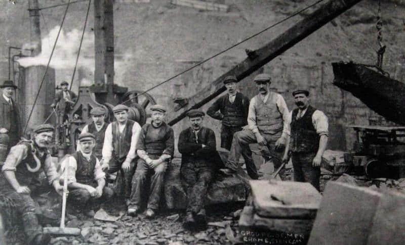 Steinbruch № 9 in Großbritannien.