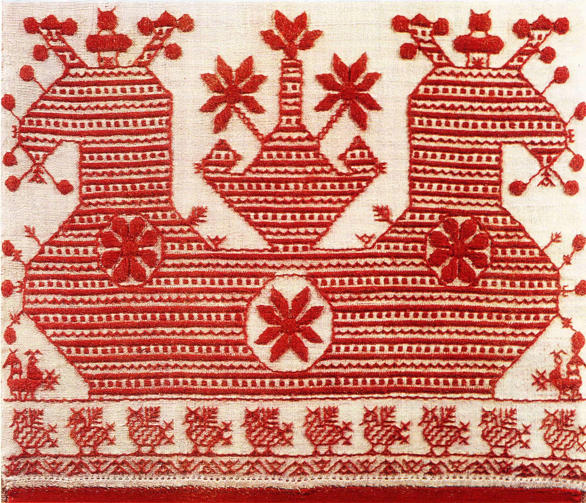 северная вышивка