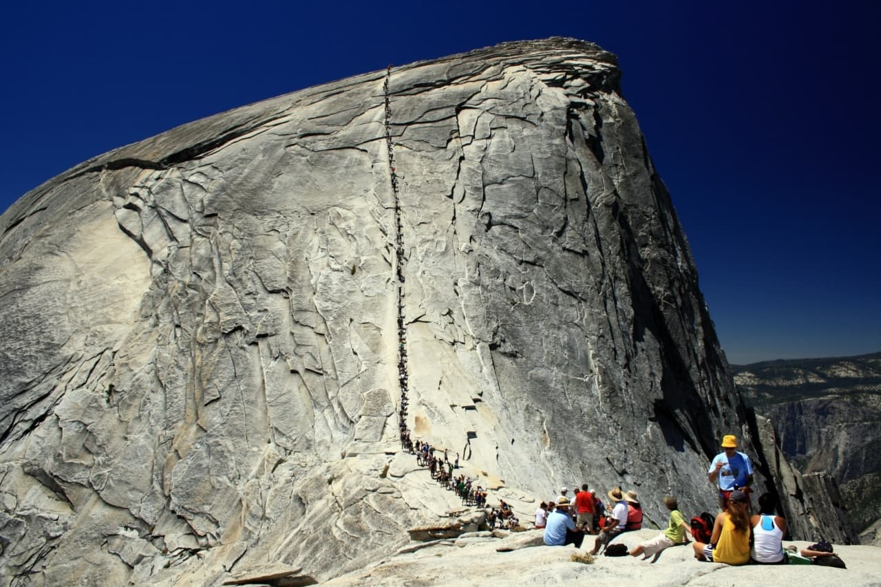 Yosemitský národní park, USA