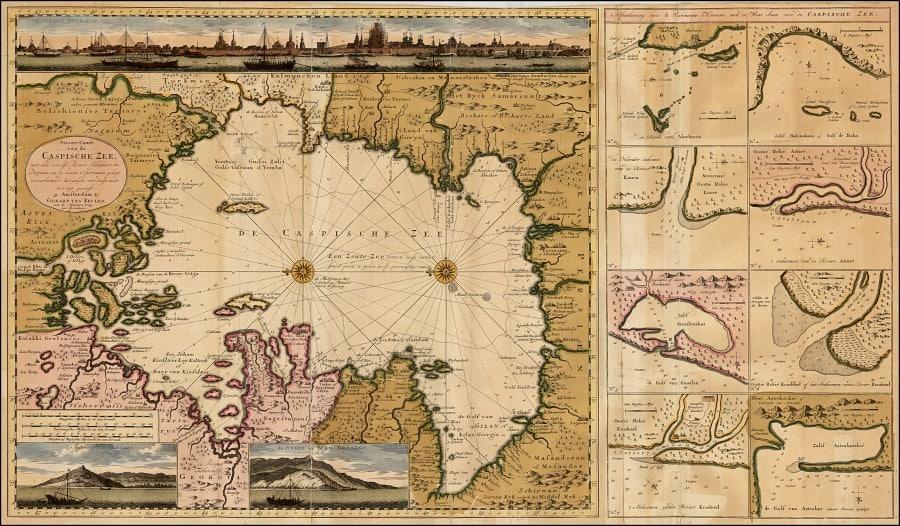 Карта Вальдземюллера 1507 года