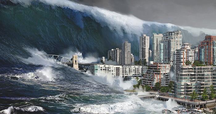 цунами, потоп