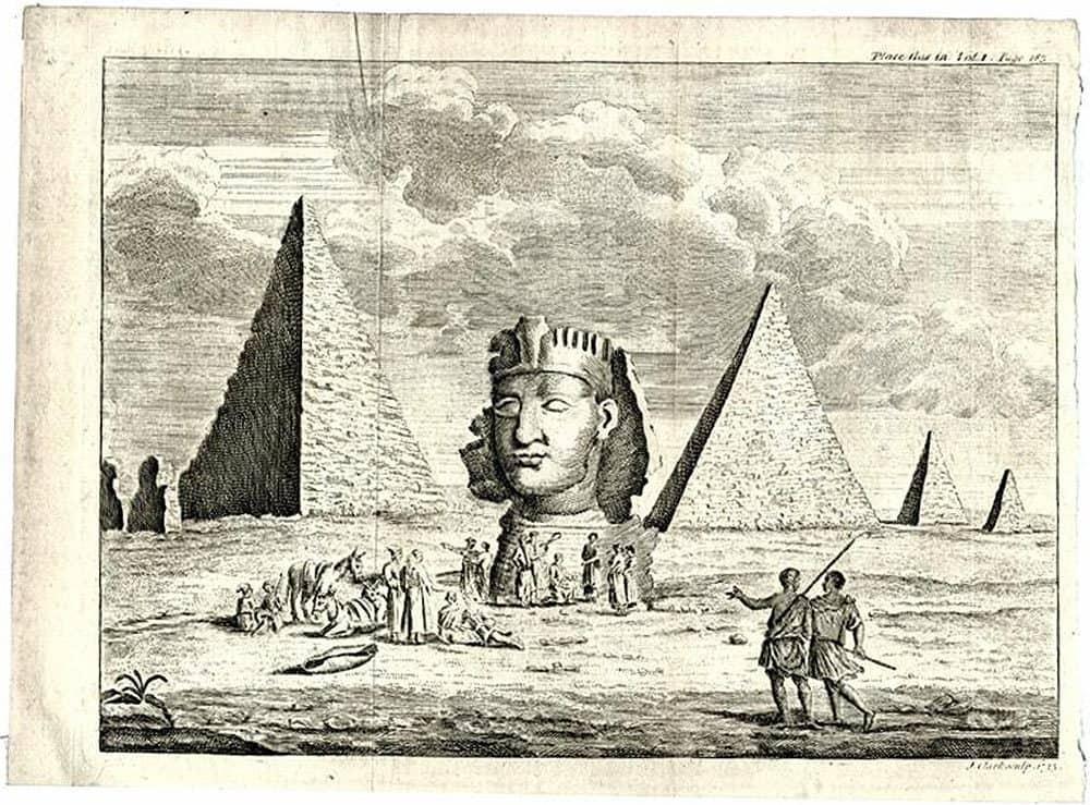 Гравюра. Ричард Покок 1743