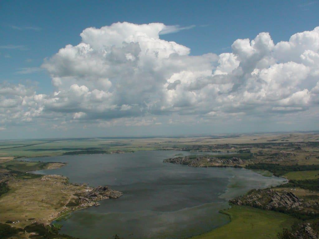Колыванское (Саввушкино) озеро.