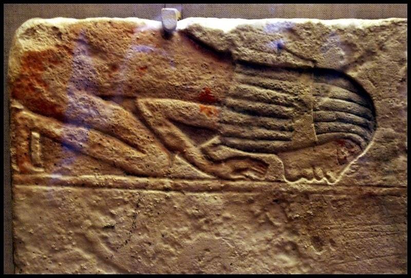 Египет. Барельеф.