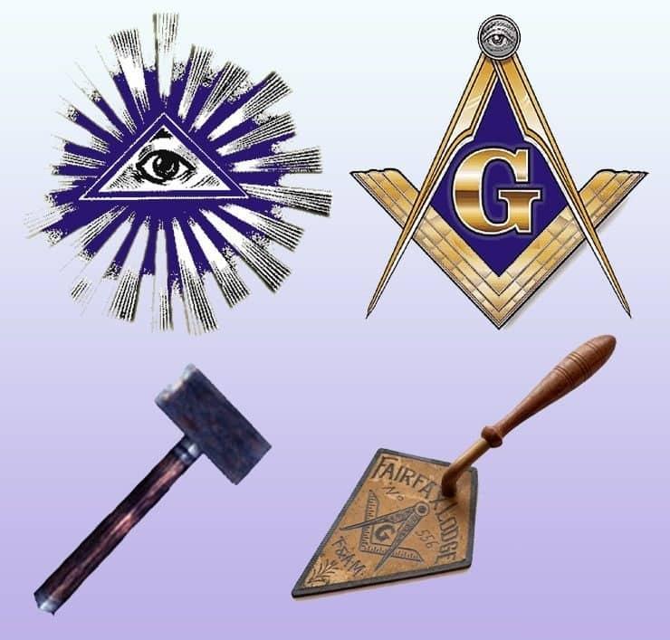 Официальная символика масонов.