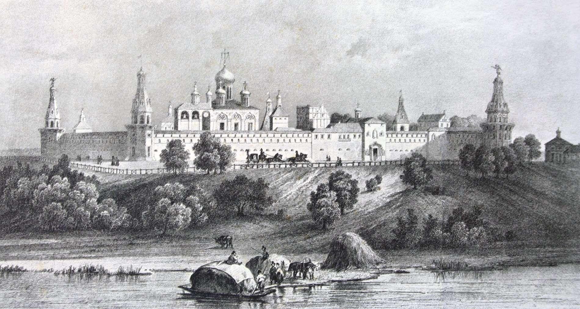 Симонов монастырь. Москва.