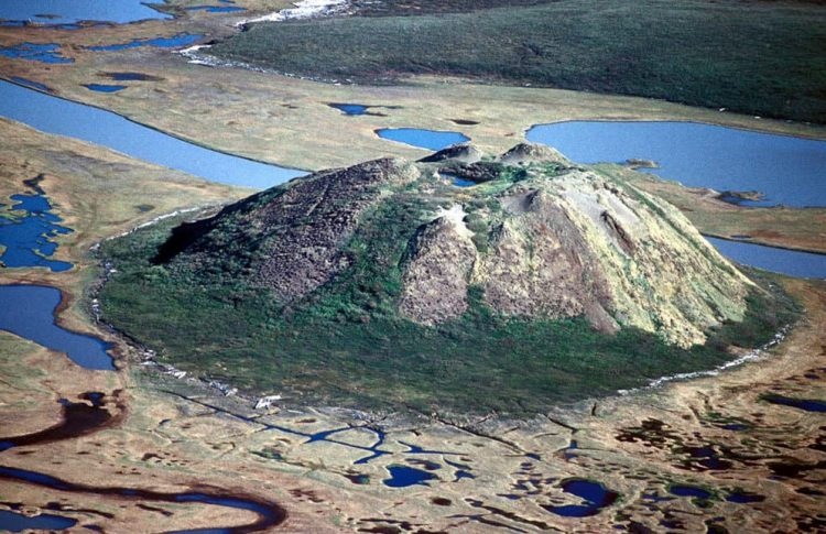 Poloostrov Tuktoyaktuk, severozápadní Kanada