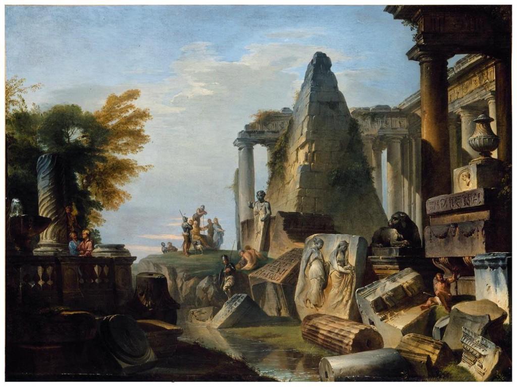 руины пирамиды