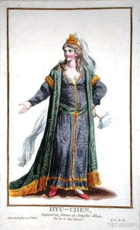 Любимая жена Чингизхана Борта Кучин