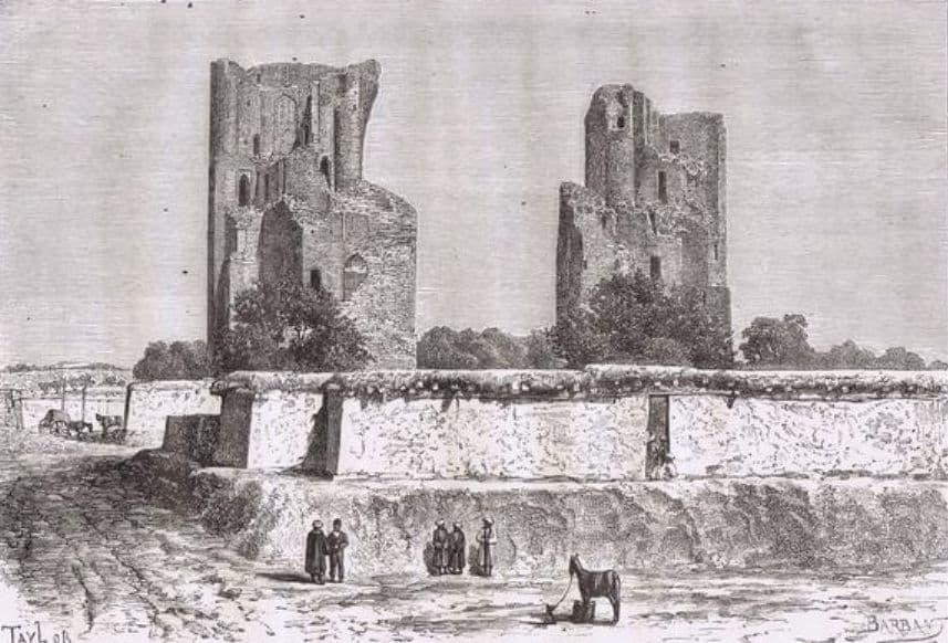 Руины в центре Бухары. Жан-Жак Элизе Реклю 1881г.