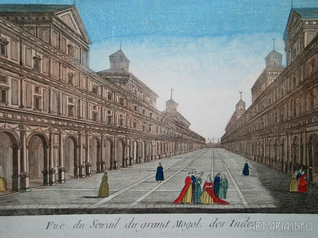 Улица города великих моголов