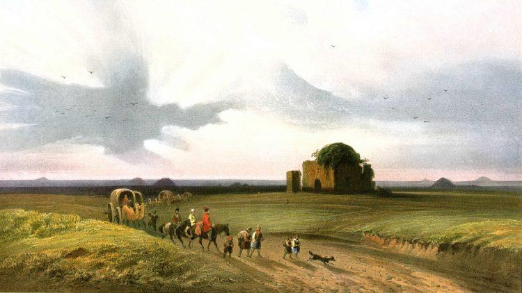 Степь между Симферополем и Перекопом