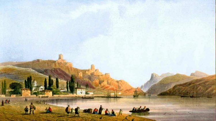 Balaklava, pohled ze strany zálivu