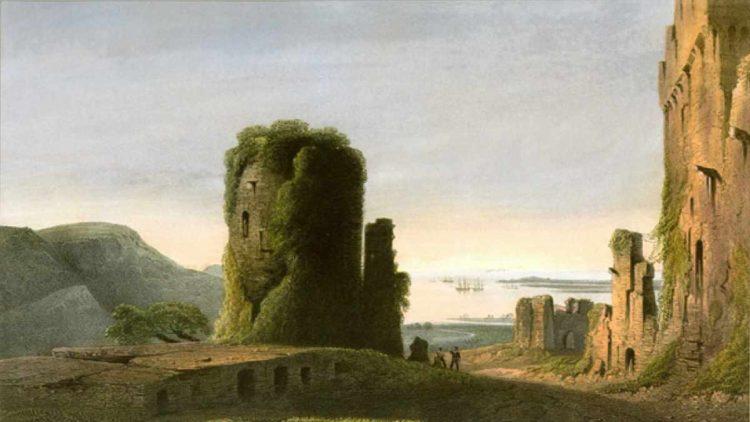 Останки генуэзской крепости в Инкермане