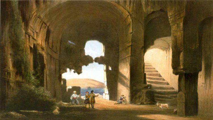 Ruiny raně křesťanského chrámu