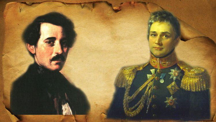 Carlo Bossoli a hrabě Michail Voroncov