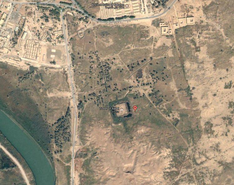 Die Stadt Hilla, Irak